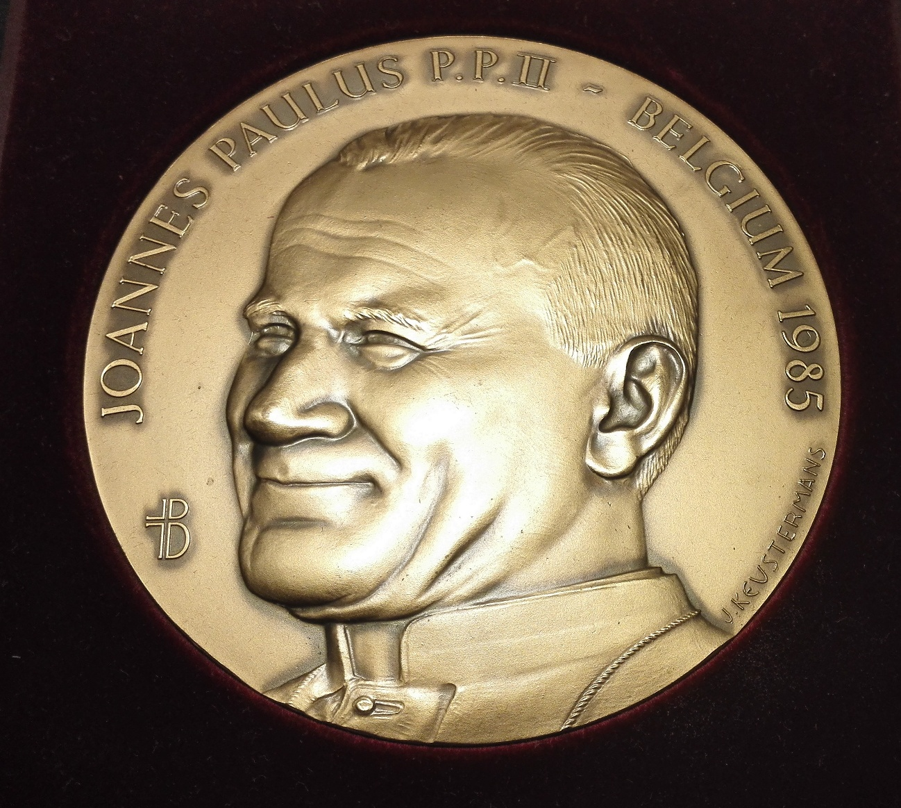 Saint POPE JOHN PAUL II Bronze Medal